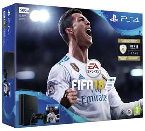 PS4 Slim + Fifa 18 with £20 off at tesco online - £229