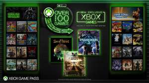 Xbox Game Pass will now include all Microsoft Studio's Games upon release £7.99 @ xbox