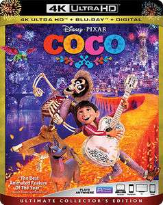 Coco (4K Ultra HD Blu-ray Ultimate Collector's Edition) - £23.00 delivered @ Wow HD