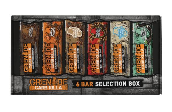 Grenade Carb Killa Selection Box (6 bars) £6.37 @ Holland and barrett instore