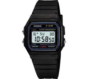 Casio Men's LCD Black Resin Strap Watch £8.99 @ argos