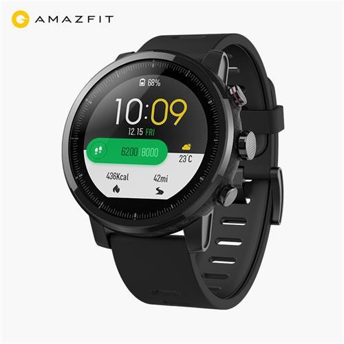 Original Xiaomi HUAMI AMAZFIT Stratos Smart Sports Watch 2 Version 1.34 Inch 2.5D Screen 5ATM £118.73 @ geekbuying