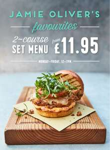 Jamie's Italian 2 Course for £11.95