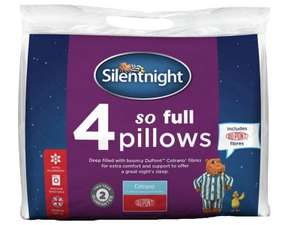 Update 16/2 - Silentnight So Full Pillows - 4 Pack - £11.89 with code @ Robert Dyas