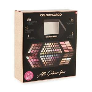 Colour Cargo - 130 Shades Palette £10.50 @ Debenhams - FREE Delivery w/ Code