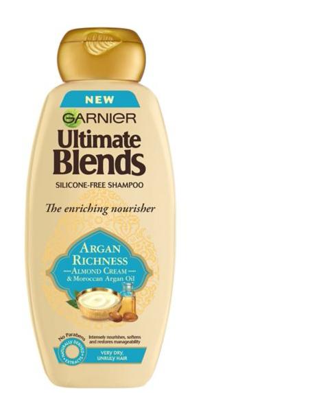 Garnier Ultimate Blends Argan Oil & Almond Cream Dry Hair Shampoo 360ml £1.99 @ boots