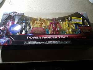 Power Rangers Movie Action Figure 6 Pack £5.00 in store @ Tesco Galashiels
