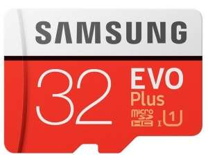 Samsung Evo+ 32GB Micro SDHC Card with Adapter  £9.99  Picstop