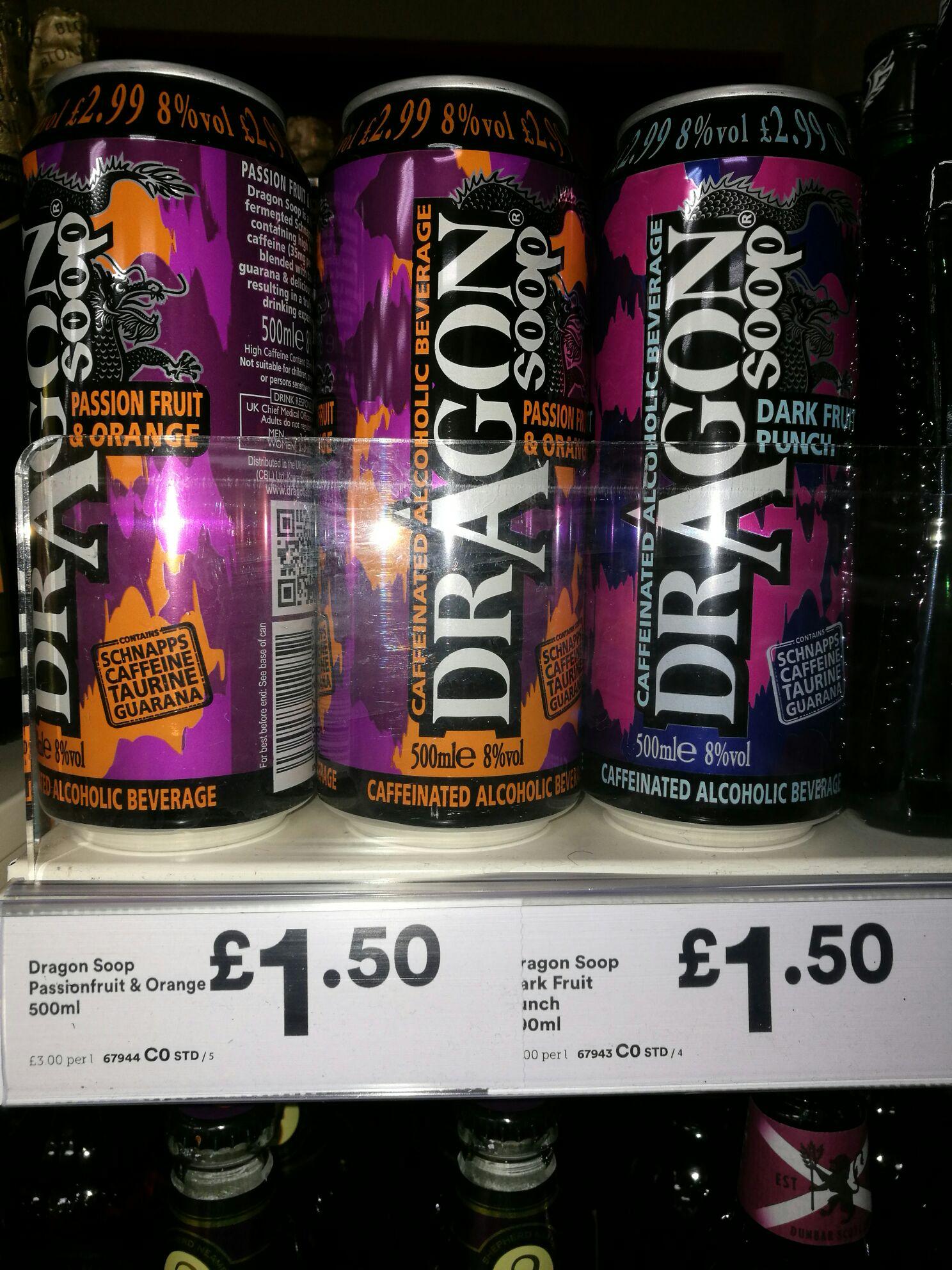 Dragonsoop £1.50 @ Iceland