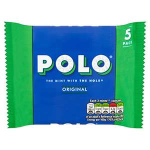 Polo Original Mints Sweets Multipack, Pack of 24 £18.30 / £17.39 S&S @ Amazon