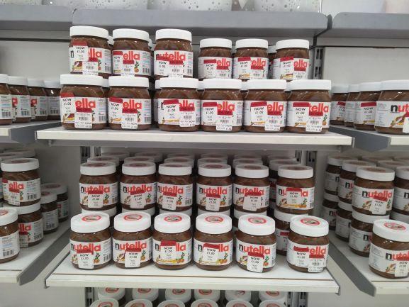 Nutella 400g £1 in store at Debenhams
