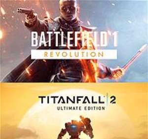 Battlefield 1 Revolution & Titanfall 2 Ultimate Edition Bundle £26.40 for Xbox Live GOLD Members
