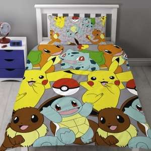 Pokemon Catch Reversible Single Duvet £7.99 delivered @ Internet Gift Store