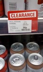 Skol Lager - 18p per pint in store at the Co-op