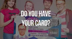 Free Young Scot proof of age & discount card for young people in Scotland