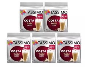 40 Tassimo Costa Vanilla Latte T-Discs £11.11 plus free delivery @ toptoys2u_ltd ebay