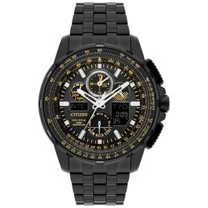 Citizen Skyhawk A.T Men's Ion Plated Bracelet Watch £292.50 with 10% off @ Ernest Jones