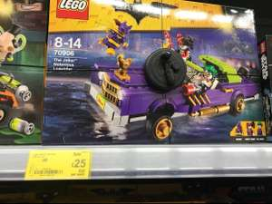 Quiet few legos reduces in Asda including Lego the joker notorious lowrider for £25 instore @ Asda