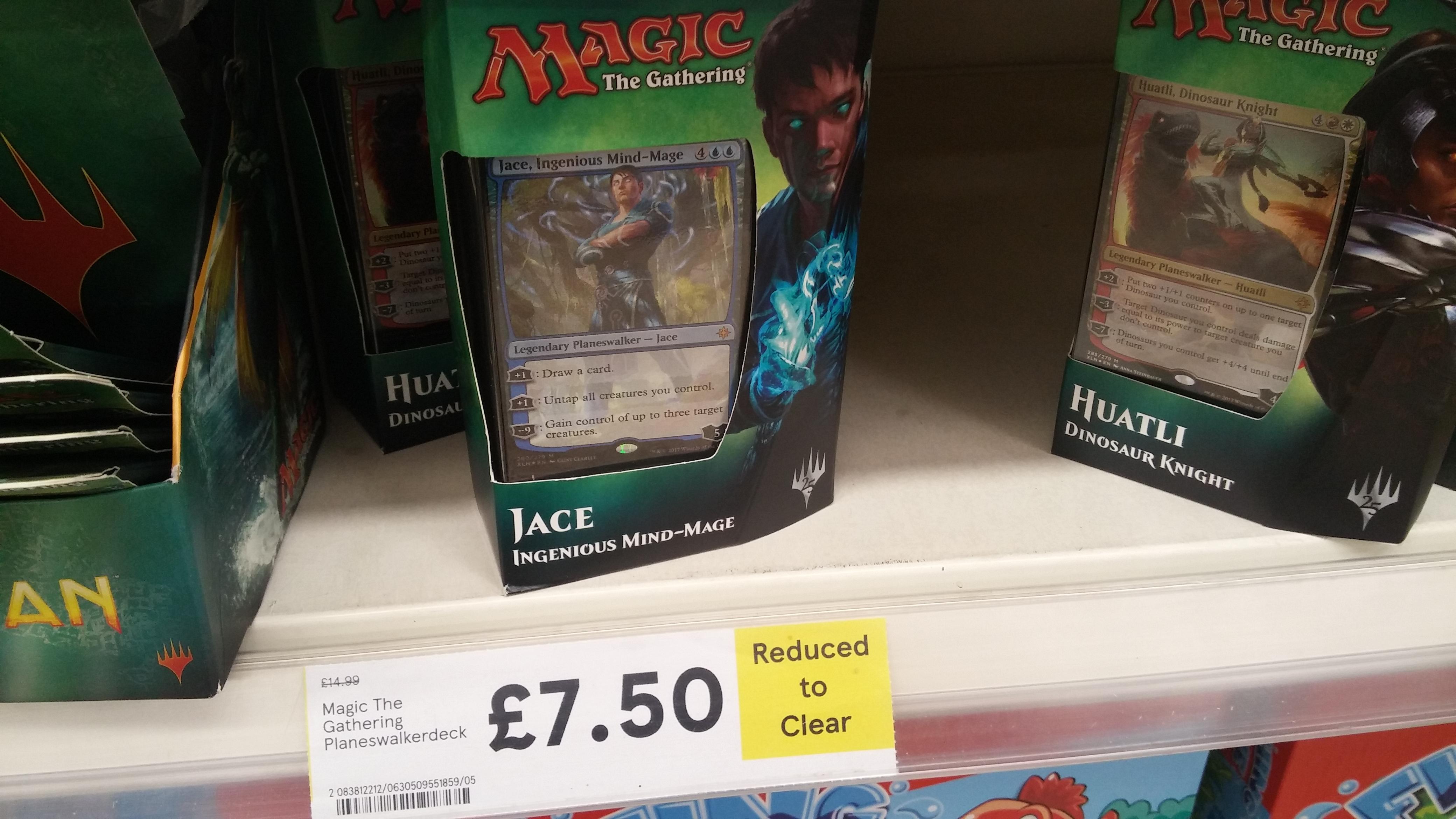 Magic the Gathering ixalan starter deck IN STORE Tesco £7.50