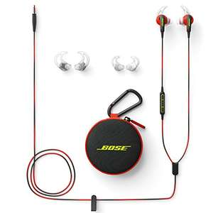 Bose SoundSport In-Ear Earphones for Apple Devices - Red £56.99 @ Amazon