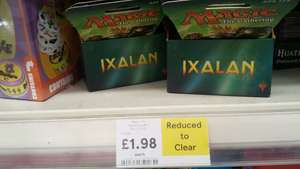 Magic the Gathering ixalan booster packs IN STORE Tesco £1.98