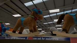 Superhero/racing rocking horse, down to £9.99 B&M edge lane Liverpool in store