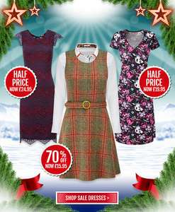 Joe Browns Sale. Upto 70% off. With extra 10% off sale items.
