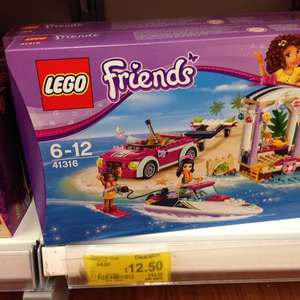 Lego Friends 41316 Andrea's speedboat Transporter £12.50 in-store at Asda Home Stafford
