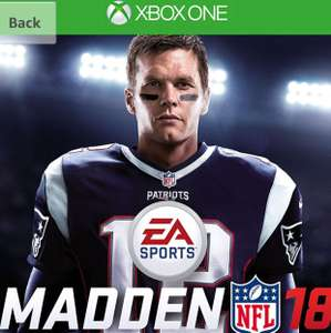 Madden NFL 18 £21.99 @ Amazon