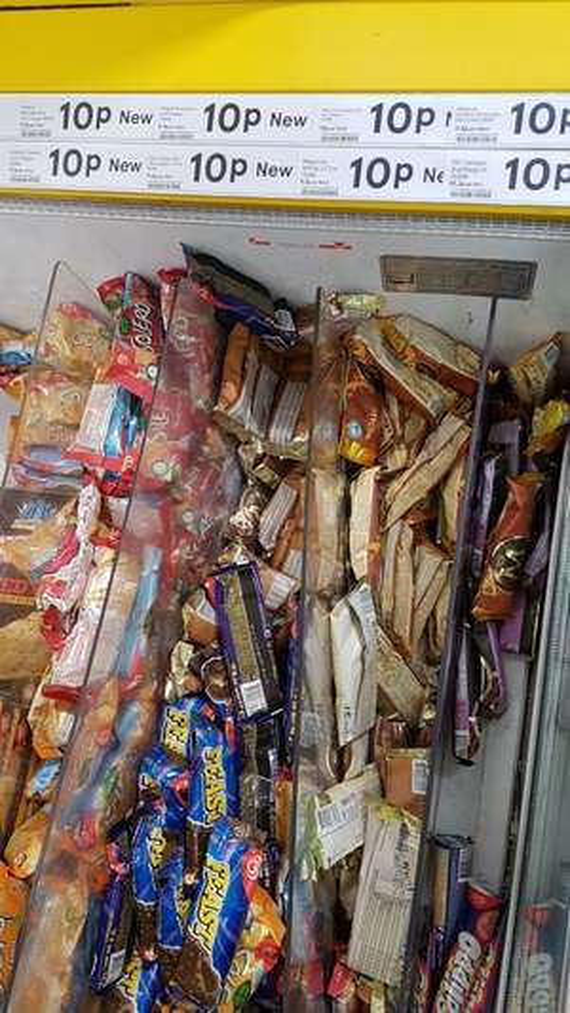 Single Ice creams 10p - tesco in store