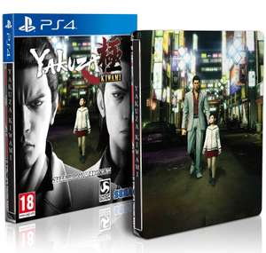 Yakuza Kiwami Steelbook Edition [PS4] £16.85 @ ShopTo