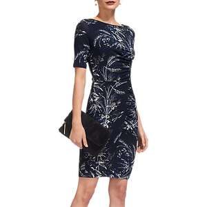 Whistles Short Sleeve Jersey Bodycon Dress, Navy £29 @ John Lewis