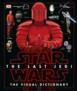 Star Wars The Last Jedi Visual Dictionary £5 Prime £7.99 Non Prime @ Amazon