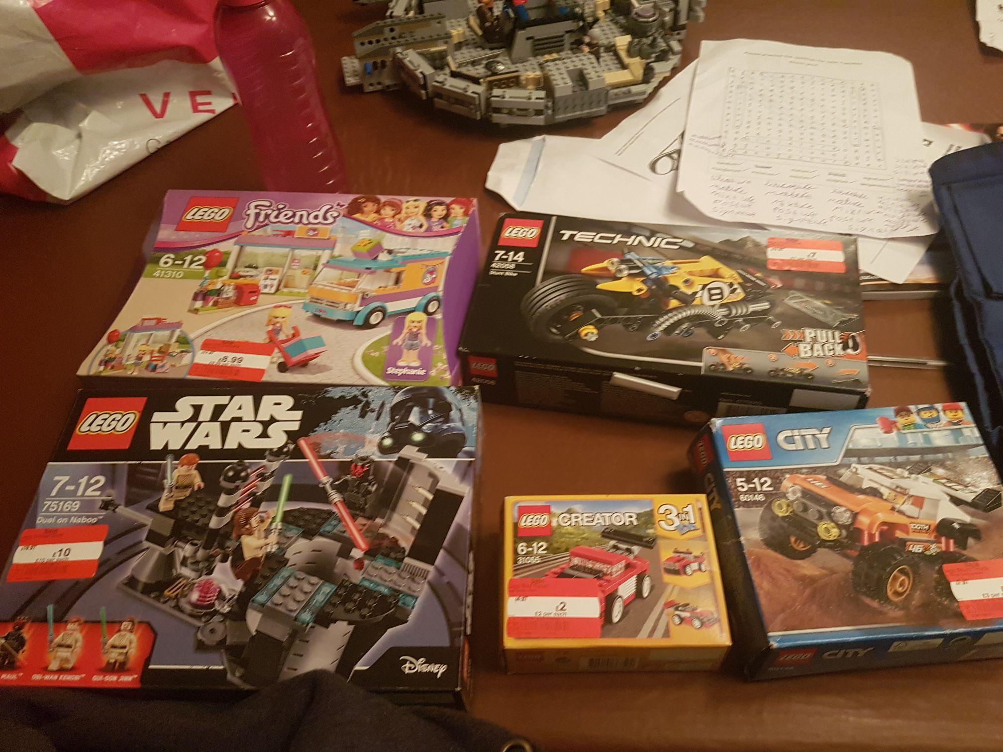 Various Lego from £2 - instore at Asda Morley