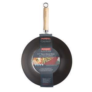 wok a  deal  - Typhoon - Black 11 inches wok was £20, now £6 delivered @ Debenhams