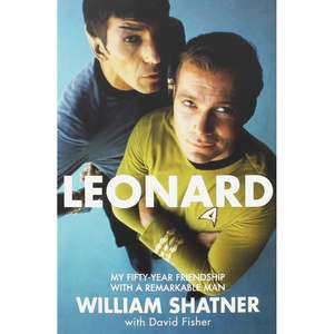 Leonard by William Shatner - Paperback for £3 with free C+C @ TheWorks