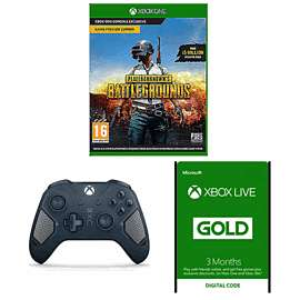 Xbox Wireless Controller - Patrol Tech Special Edition + Xbox Live 3 Month Gold Membership + 3 Bonus Months + PUBG Game Preview Edition £69.99 @ Game