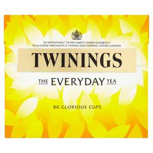 Twinings every day tea bags 80pk - £1.99 B&M