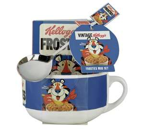 Kellogg's rice crispy mug and spoon set £3.24 at Argos