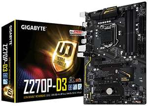 Gigabyte Z270P-D3 Motherboard £71.62 - Amazon