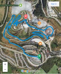 Free entry to Eden Project Saturday morning via parkrun