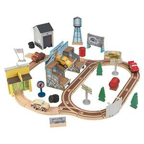 KidKraft Disney® Pixar Cars 3 Wooden Track Set Thomasville 50 Pieces - Amazon