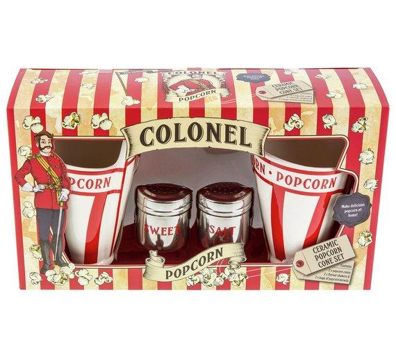 Ceramic popcorn cone set Was £19.99,now £4.99 @ argos