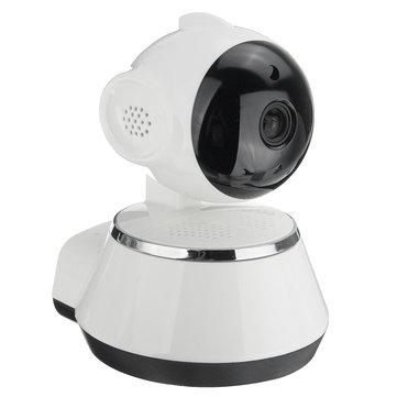 Wifi Pan Tilt 720p Night Vision Security Camera £11.55 with code - Banggood