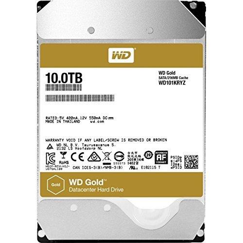 10TB WD-Gold SATA Hard Drive WD101KRYZ   £328.03 @ Amazon