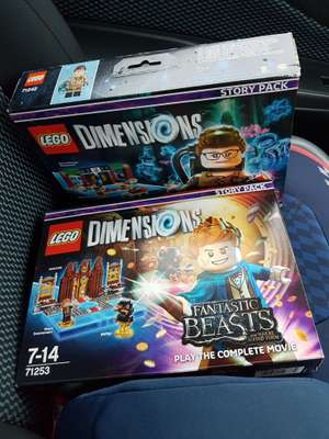Lego Dimensions Ghostbusters/Batman/fantastic beasts story packs £10 INSTORE HINDLEY TESCO