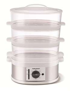 Morphy Richards 3 Tier Steamer, £20.23 with Voucher Code