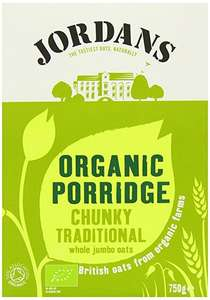 Jordans organic porridge x6 from as little as £2.25 with s&s - Amazon (add on item)