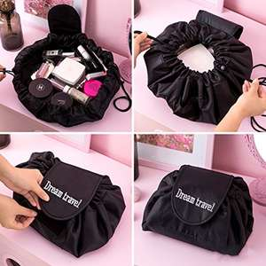 Cute makeup draw string bag only for £5.99 Prime / £8.98 non Prime Sold by TIMESLITE and Fulfilled by Amazon