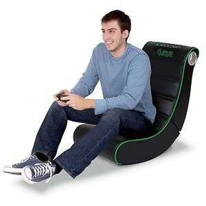 X-Rocker Curve Video Rocker Gaming Chair with 2.0 Audio £34.99 @ Argos on eBay with free delivery